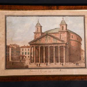 antico disegno Pantheon